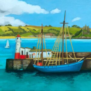 Mount's Bay From Newlyn by Julia Odell