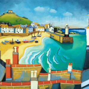 St Ives by Julia Odell limited edition print