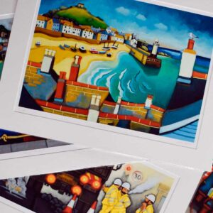 Mounted Limited Edition Giclee Art Prints